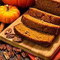 Fresh Pumpkin Bread by Teri Virbickis
