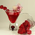 Fresh Raspberry Cosmos Delight by Inspired Nature Photography Fine Art Photography