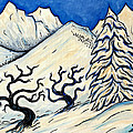 Fresh Snow by Sean Washington