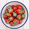 Fresh Strawberries  by Viktor Pravdica