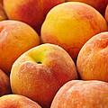 Freshness of peaches by Elena Elisseeva