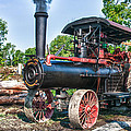 Frick Steam Tractor by Guy Whiteley