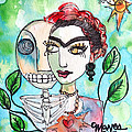 Frida And Sol by Laurie Maves ART