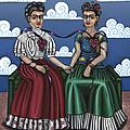 Frida Beside Myself by Victoria De Almeida