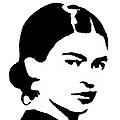 Frida Black And White by Michelle Dallocchio