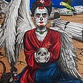 Frida Kahlo by Amber Stanford