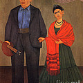 Frida Kahlo And Diego Rivera 1931 by Pg Reproductions