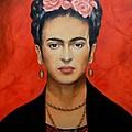 Frida Kahlo by Yelena Day