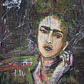 Frida Y Cigarrillos by Laurie Maves ART