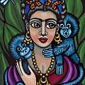 Frida's Monkeys by Victoria De Almeida