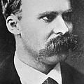 Friedrich Wilhelm Nietzsche by French Photographer