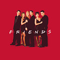Friends - Cast In Black by Brand A