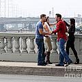 Friends Greeting  by Henrik Lehnerer