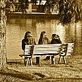 Friends In Sepia by Frozen in Time Fine Art Photography