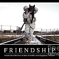 Friendship Inspirational Quote by Stocktrek Images