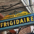 Frigidaire Sign by John Kiss