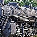 Frisco Train Locomotive Three by Ms Judi