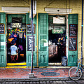 Fritzels Bar On Bourbon Street by Ray Devlin