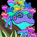 Frog Family Too by Nick Gustafson