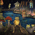 Frogland by Leah Saulnier The Painting Maniac
