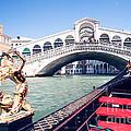 From A Gondola Near Rialto Bridge by Matteo Colombo