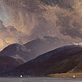 From Balestrand At The Sognefjord by Thomas Fearnley