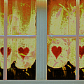 From French Riviera Window With Love by Ben and Raisa Gertsberg