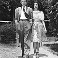 From Left, Spouses Robert Walker by Everett