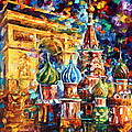 From Moscow To Paris by Leonid Afremov