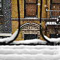From My Fire Escape - Arches In The Snow by Miriam Danar