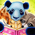 From Okin The Panda Illustration 10 by Hiroko Sakai