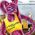 From Purple Cat Illustration 15 by Hiroko Sakai