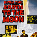 From The Earth To The Moon, Us Poster by Everett