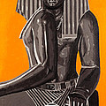 Front And Side Egyptian Pharoah by Joe Ciccarone