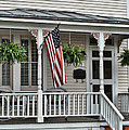 Front Porch Flag by Victor Montgomery
