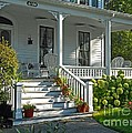 Front Porch In Summer by Desiree Paquette
