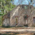 Front View Of The Chapel Of Ease by Scott Hansen