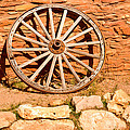 Frontier Wagon Wheel by Douglas Barnett