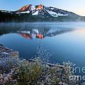 Frost At Paulina Lake by Adam Jewell