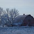 Frosty Barn by Bonfire Photography