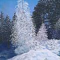 Frosty Trees by Ginny Neece
