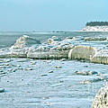 Frozen Beach by Rick  Monyahan