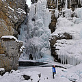 Frozen Falls by Clay and Gill Ross