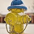Frozen Fire Hydrant by Brett Engle