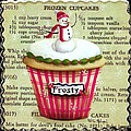 Frozen Frosty Cupcake by Catherine Holman