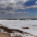 Frozen Huron Shore 2 by Scott Hovind