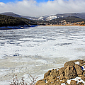 Frozen Lake by Jennifer Robin