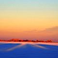 Frozen Lake by Pam Romjue