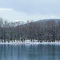 Frozen Mountain Lake by Bill Cannon