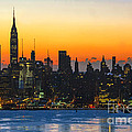 Frozen-new York At Dawn  by Regina Geoghan